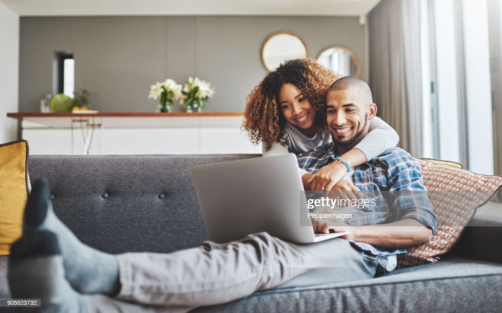 There's no denying their connection : Stock Photo