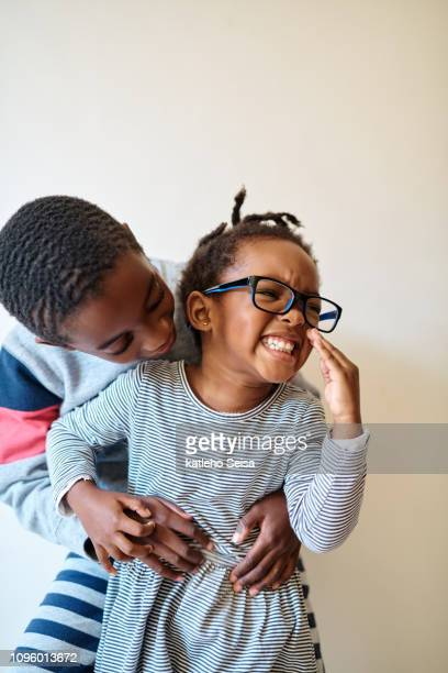 there's no other quite like a big brother - girl wrestling stock pictures, royalty-free photos & images