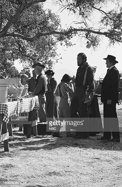 PRAIRIE There's No Place Like Home Part 1 Episode 5 Aired 10/9/78 Pictured Merlin Olsen as Jonathan Garvey UNKNOWN Photo by Ted Shepherd/NBCU Photo...