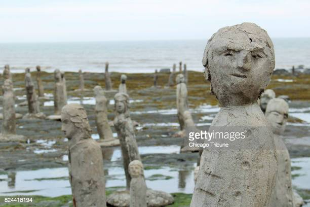 There's no shortage of artistic expression in Gaspesie and most of it isn't as puzzling as the tidesensitive statuary of Marcel Gagnon in SainteFlavie