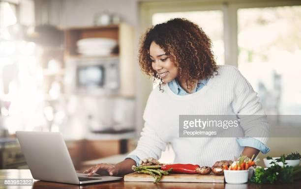 não faltam receitas on-line - receita - fotografias e filmes do acervo