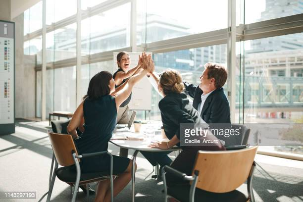 there's nothing more energizing than working in a team - employee stock pictures, royalty-free photos & images