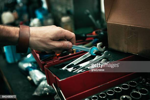 there's nothing that can't be fixed with the right tools - toolbox stock photos and pictures