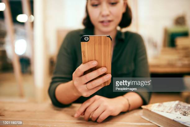there's nothing that i can't do with wood - phone cover stock pictures, royalty-free photos & images