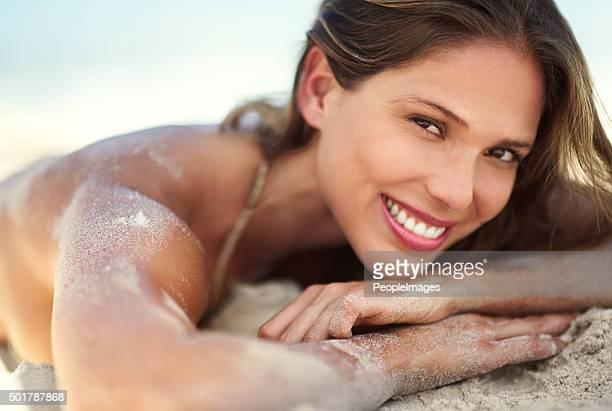 there's only two rules at the beach: relax and enjoy - beautiful beach babes stock photos and pictures