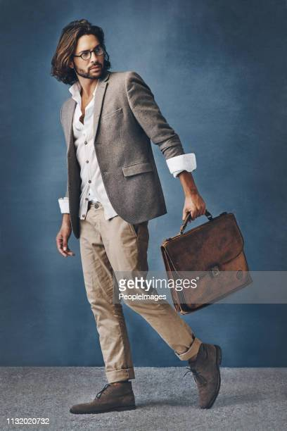 there's power in being this stylishly cool - suave stock pictures, royalty-free photos & images
