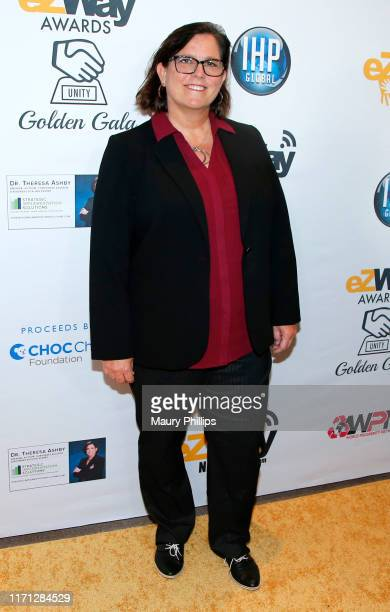 Theresa Ashby attends the eZWay Awards Golden Gala at Center Club Orange County on August 30 2019 in Costa Mesa California