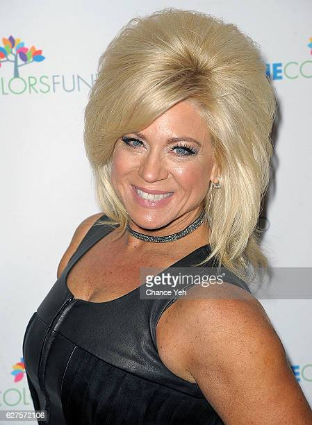Theresa Caputo attends Cyndi Lauper's True Colors Fund 6th Annual Home For The Holidays Concert at Beacon Theatre on December 3 2016 in New York City
