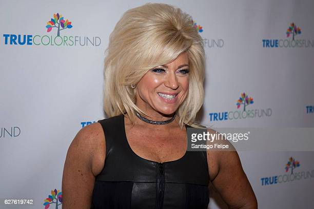 Theresa Caputo attends Cyndi Lauper's True Colors Fund Hosts 6th Annual Home For The Holidays Concert at Beacon Theatre on December 3 2016 in New...