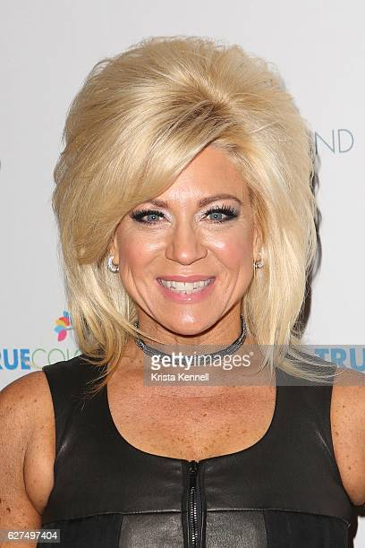 Theresa Caputo attends the 6th Annual Home For The Holidays Concert at The Beacon Theatre on December 3 2016 in New York City