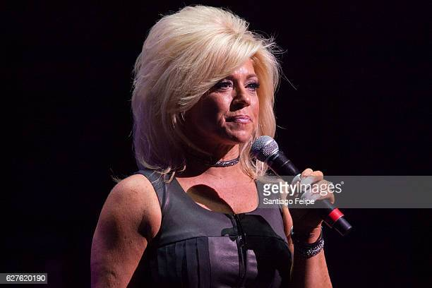 Theresa Caputo hosts the 6th Annual Home For The Holidays Concert at Beacon Theatre on December 3 2016 in New York City