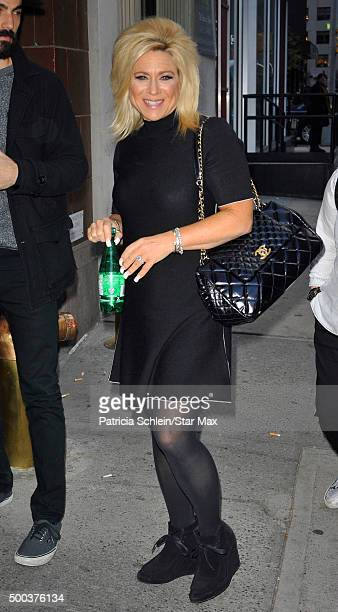 Theresa Caputo is seen on December 7 2015 in New York City