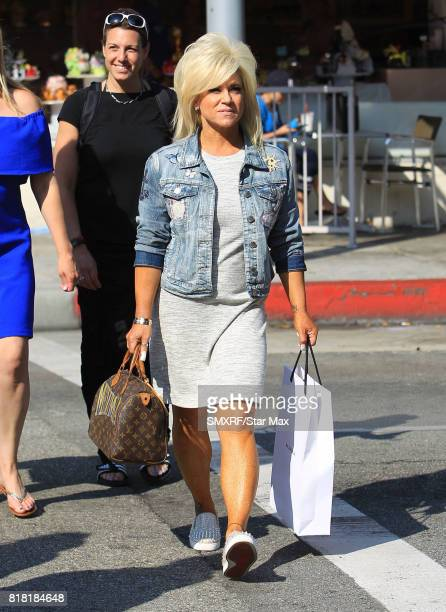 Theresa Caputo is seen on July 17 2017 in Los Angeles California