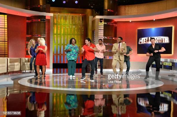 TRUTH Theresa Caputo Kal Penn Denise Richards and Matt McGorry make up the celebrity panel on 'To Tell the Truth' Episode 308 airing SUNDAY AUG 12 on...