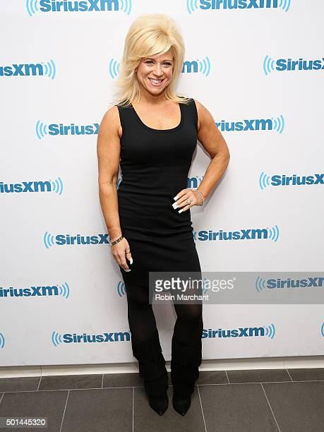 Theresa Caputo visits at SiriusXM Studios on December 15 2015 in New York City