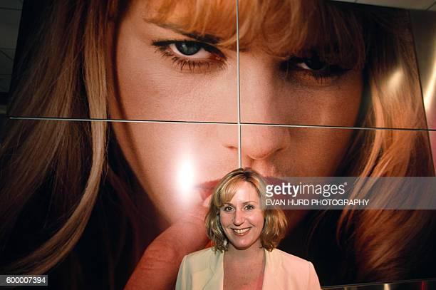 Theresa Flynt Gaerke, manager of the Hustler Hollywood store and daughter of magazine founder and businessman Larry Flint. Flynt's Hustler Hollywood...