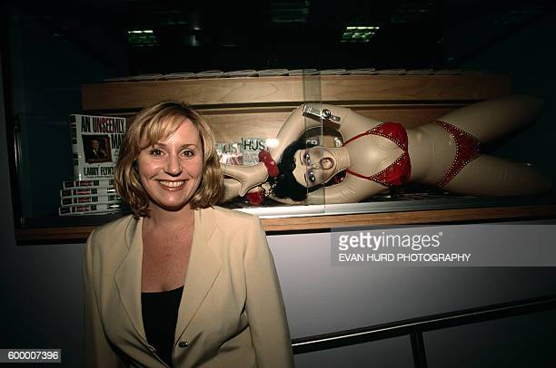Theresa Flynt Gaerke manager of the Hustler Hollywood store and daughter of magazine founder and businessman Larry Flint Flynt's Hustler Hollywood is...