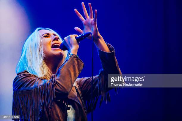 Theresa Jarvis of Yonaka performs at during the first day of the Southside Festival on June 22 2018 in Neuhausen Germany