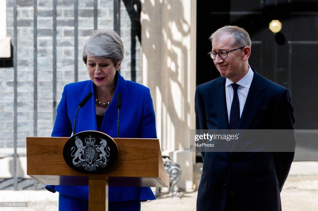 Theresa May's Final Day As U.K. PM : News Photo