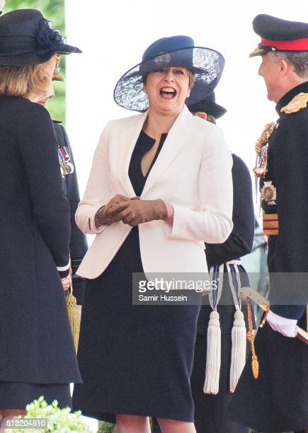 Theresa May attends a State visit by the King and Queen of Spain on July 12 2017 in London England This is the first state visit by the current King...