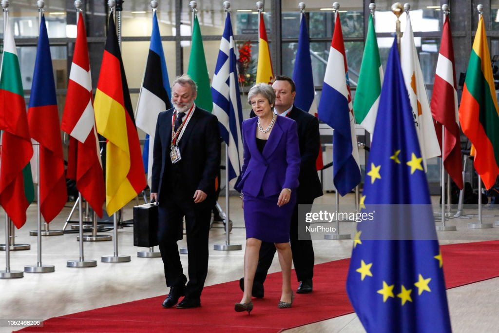 Heads of Governments Arrive At The European Council Summit : News Photo