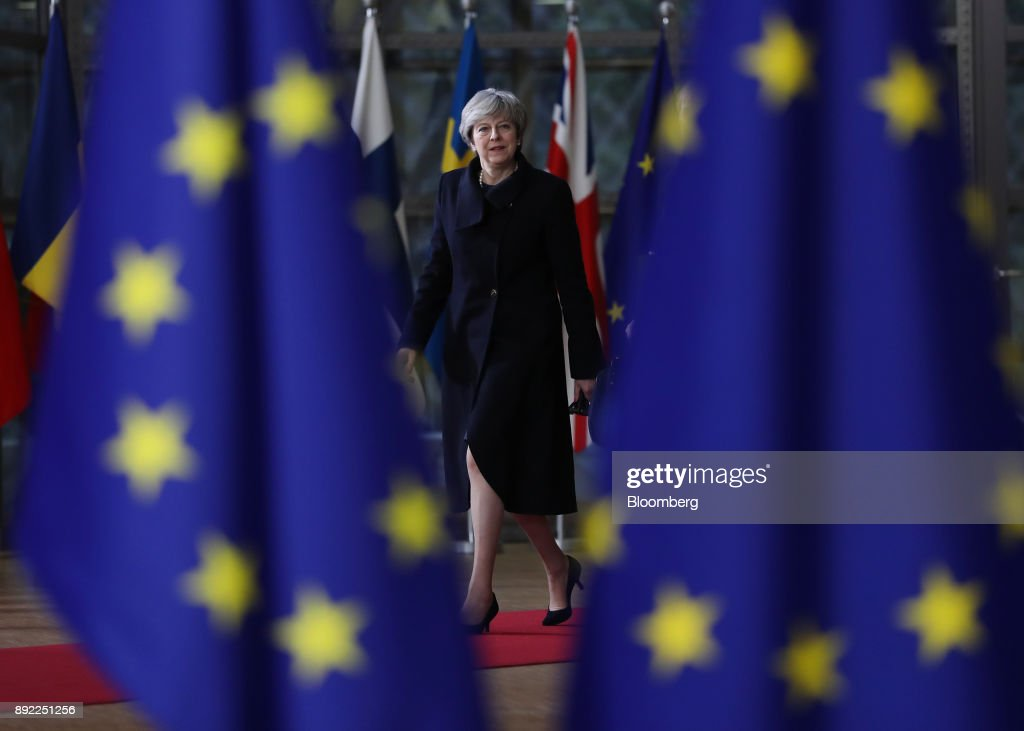 U.K. Prime Minister Theresa May Attends EU Leaders Summit Following Brexit Legislation Defeat