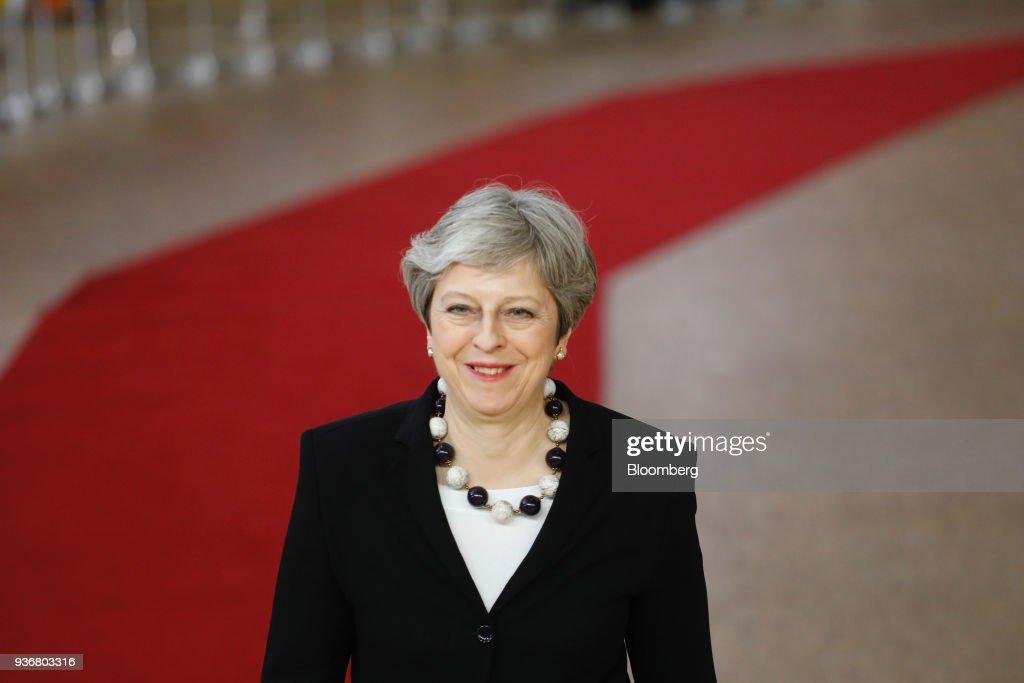 EU Leaders Talk Tariffs And Brexit
