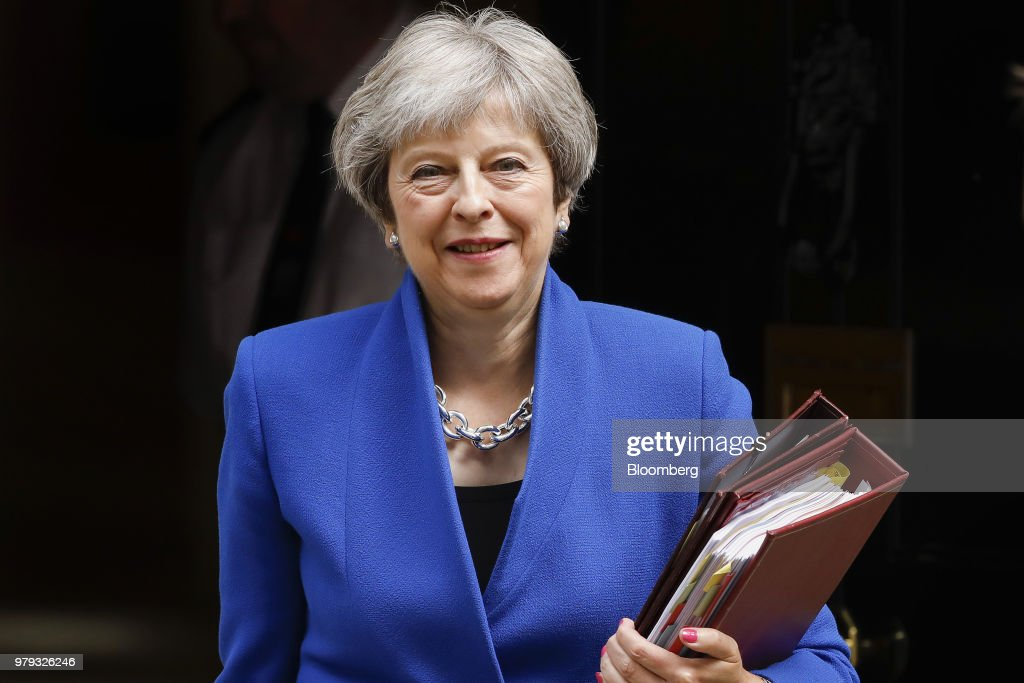U.K. Prime Minister Theresa May Refuses To Back Down Before Crunch Brexit Vote