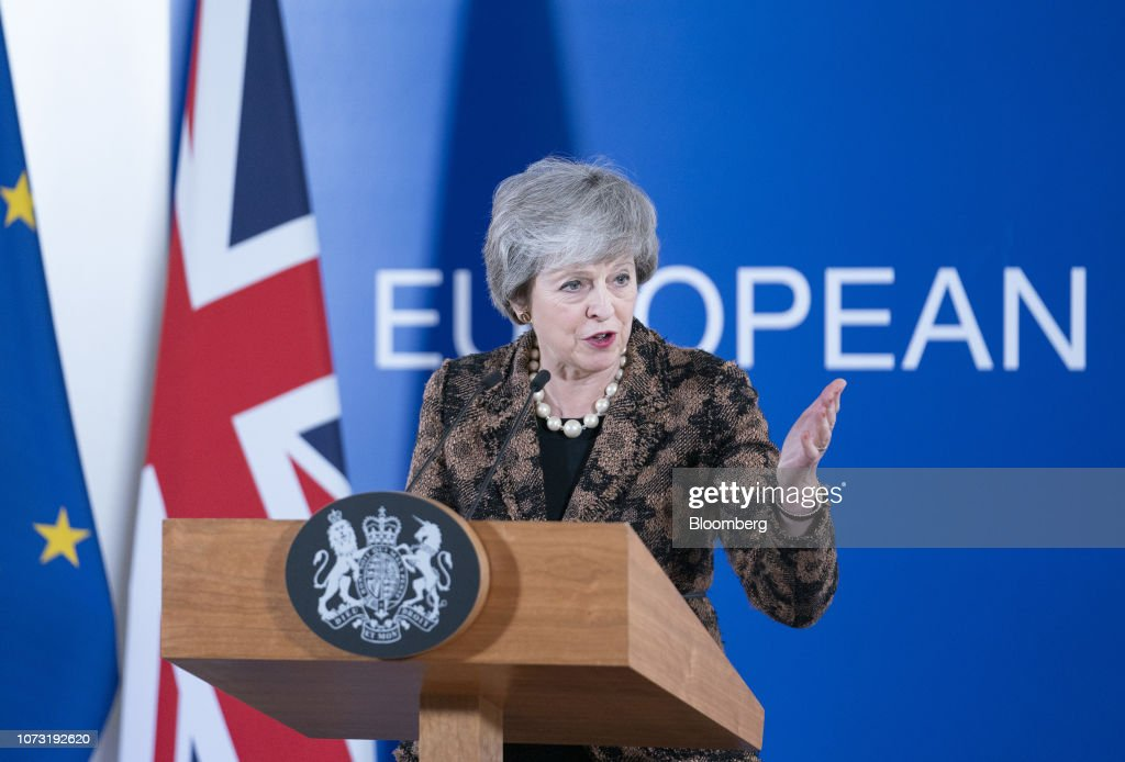 EU Leaders Summit With Danger Of No-Deal Brexit Increasing : News Photo