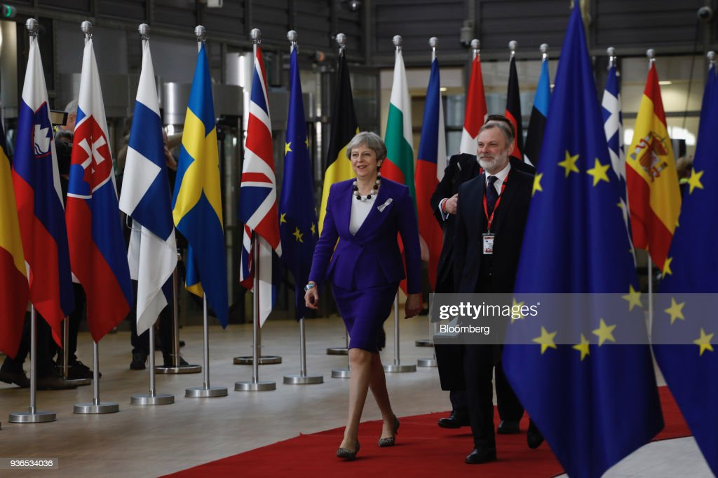 European Union Leaders Attend Trade Summit