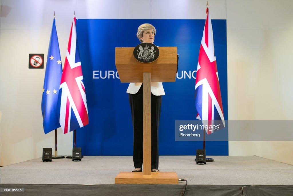 European Union Leaders Attend Summit : News Photo