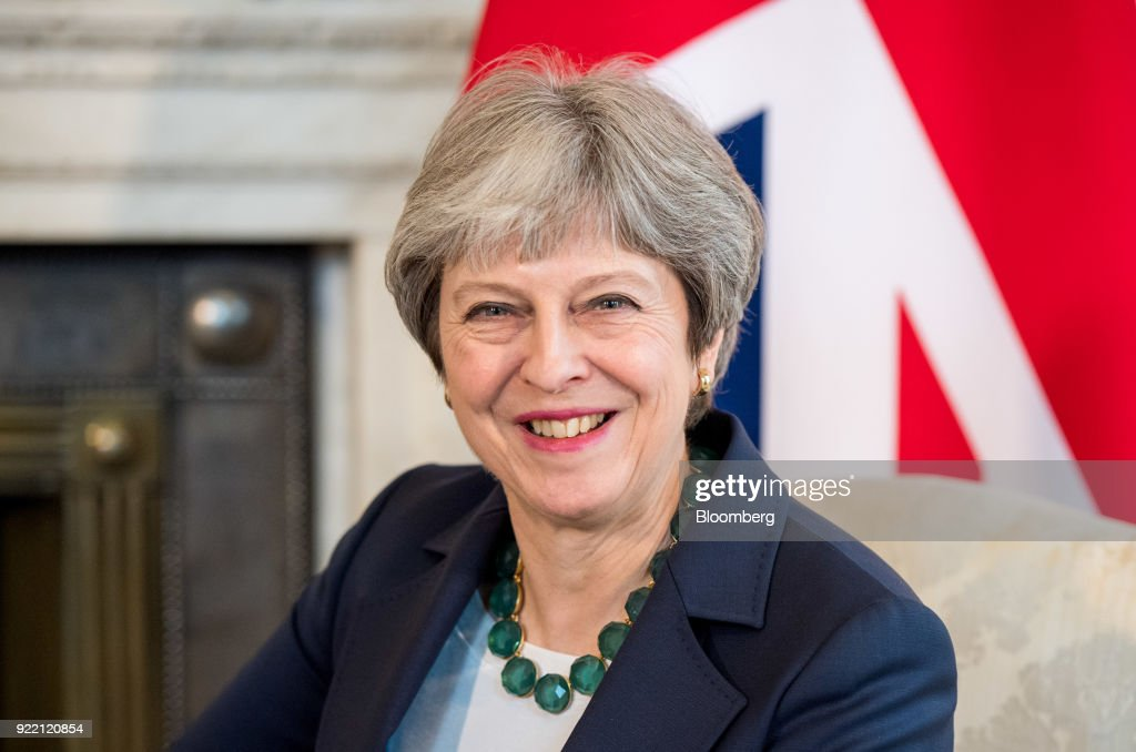 U.K. Prime Minister Theresa May Welcomes Netherlands Prime Minister Mark Rutte