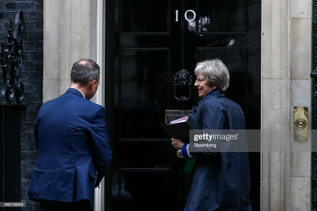 U.K. Prime Minister Theresa May Attends Weekly Questions And Answers Session