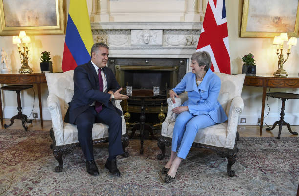 GBR: U.K. PM May Hosts Bilateral Meetings With Colombia's President Duque & Afghanistan's President Ghani
