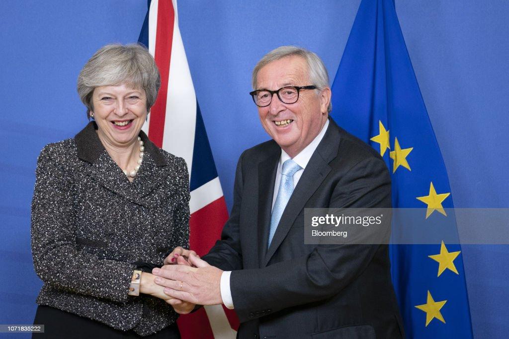 U.K. PM Theresa May Seeks EU Help To Unlock Parliament Impasse : News Photo
