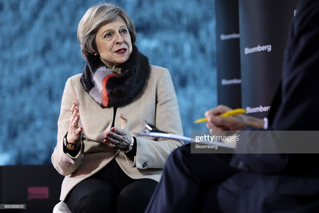Day Three Of The World Economic Forum (WEF) 2017 : News Photo
