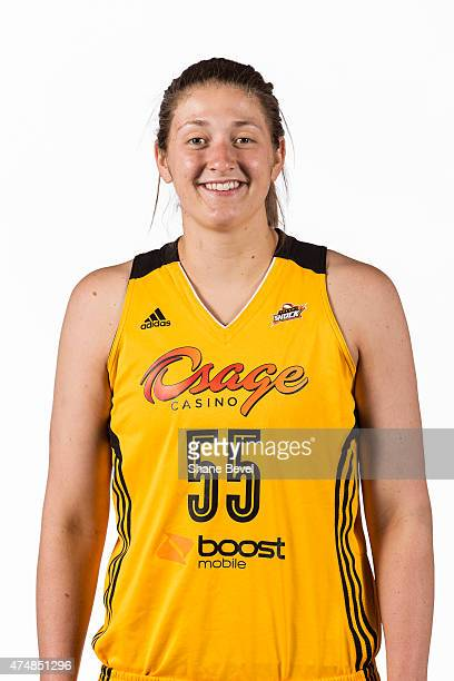 Theresa Plaisance of the Tulsa Shock poses for a portrait during Media Day on May 26 2015 at the BOK Center in Tulsa Oklahoma NOTE TO USER User...