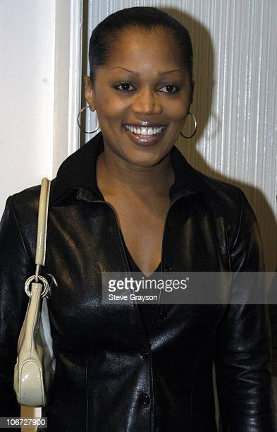Theresa Randle during Renee Taylor's OneWoman Stage Portrait An Evening With Golda Meir Premiere Engagement at The Canon Theater in Beverly Hills...