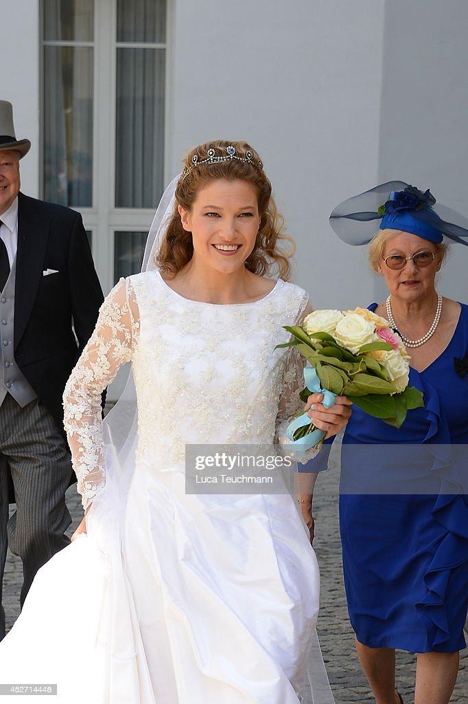 Wedding Of Prince Francois von Orleans And Theresa von Einsiedel : News Photo