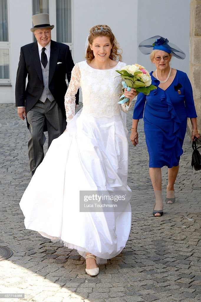 Wedding Of Prince Francois von Orleans And Theresa von Einsiedel : News Photo