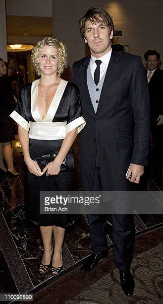 Therese and Henrick Lundqvist during The Tenth Annual ASPCA Bergh Ball Tails of Time at Mandarin Oriental in New York City New York United States