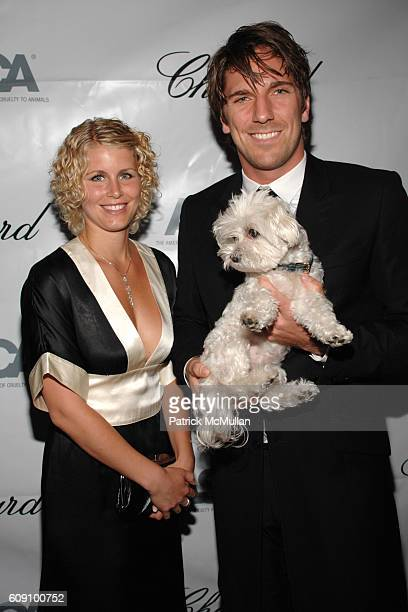 Therese Anderson and Henrik Lundquist attend The Tenth Annual ASPCA Bergh Ball at Mandarin Oriental on May 10 2007 in New York City