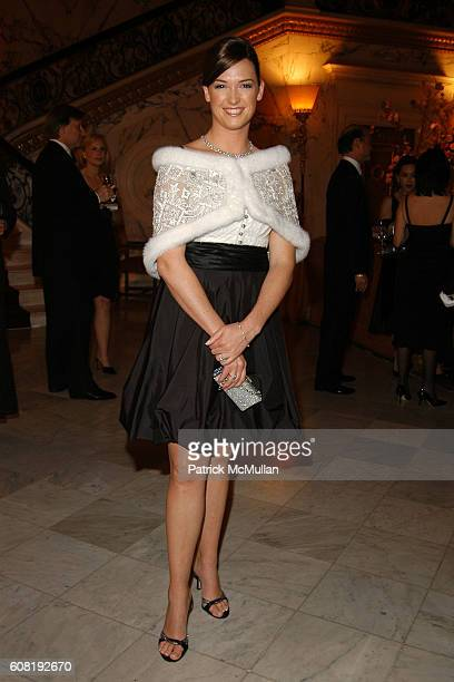 Therese Georgiou attends STEVEN ANGELA KUMBLE'S Wedding Celebration at Metropolitan Club on April 13 2007 in New York City