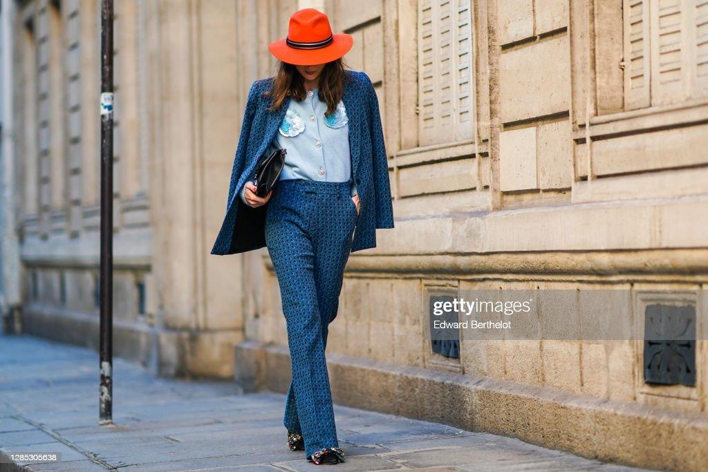 Fashion Photo Session In Paris - November 2020 : Photo d'actualité