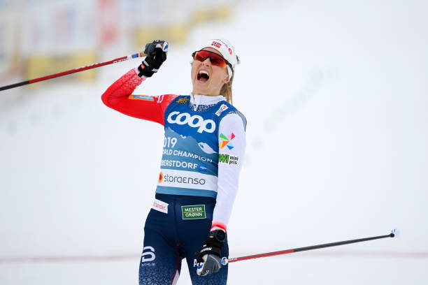 DEU: FIS Nordic World Ski Championships Oberstdorf - Women's Cross Country Skiathlon 7.5 km/7.5 km C/F