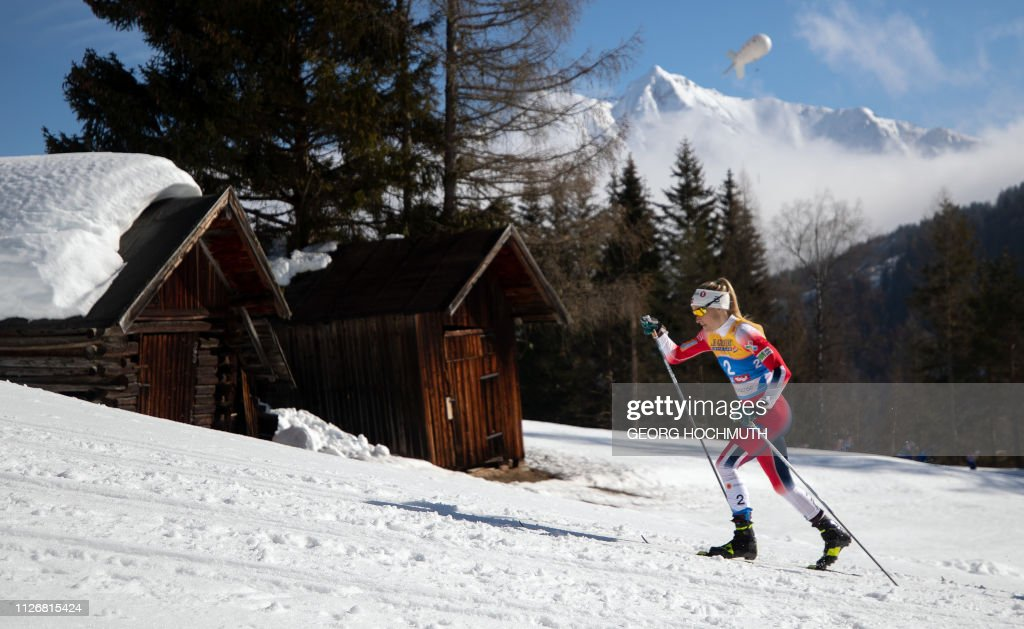 NORDIC-SKI-WORLD-WOMEN-CROSS-COUNTRY : News Photo
