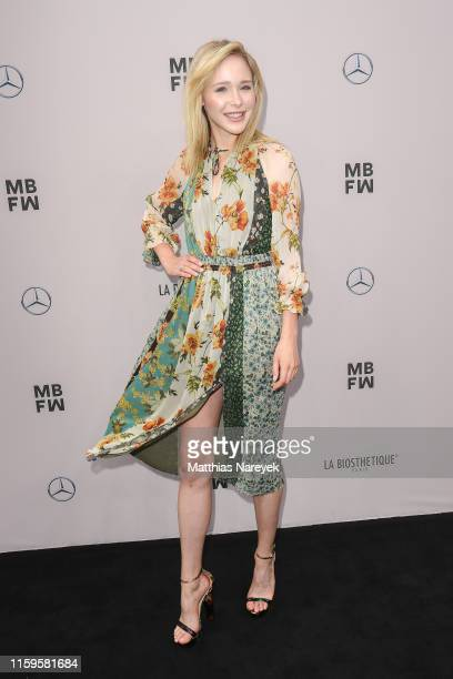 Theresia Fischer attends the Irene Luft show during the Berlin Fashion Week Spring/Summer 2020 at ewerk on July 02 2019 in Berlin Germany