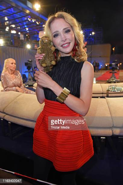 Theresia Fischer attends the Promi Big Brother final at MMC Studios on August 23 2019 in Cologne Germany
