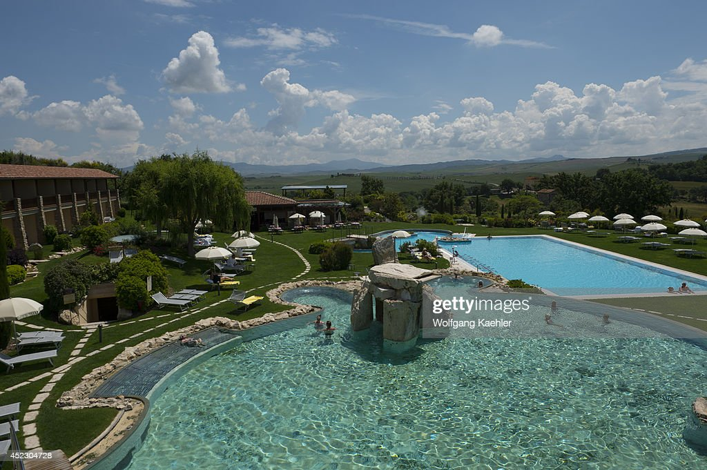 Thermal pool at adler thermae spa & relax resort in bagno vignoni