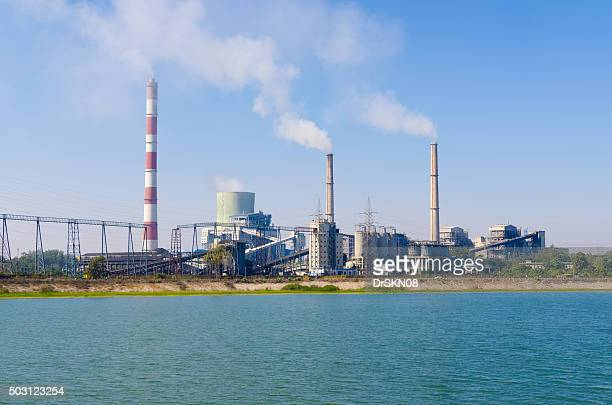 thermal power plant - hot spring stock pictures, royalty-free photos & images